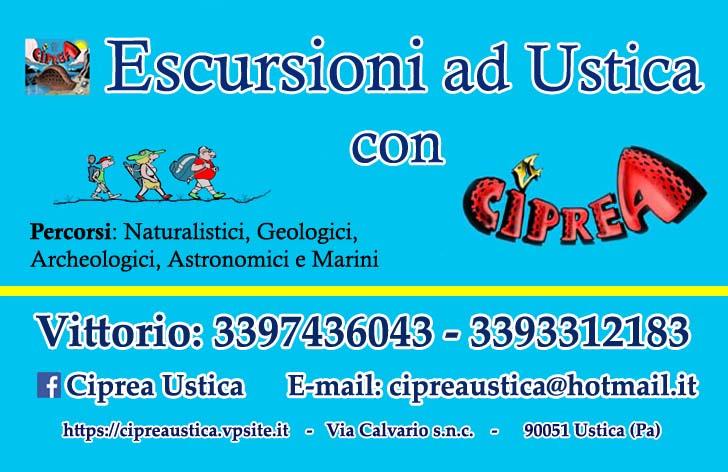 Organizza la tua escursione ad Ustica