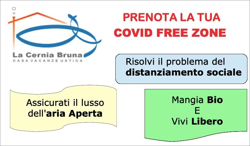 Prenota la tua Covid Free Zone Personale